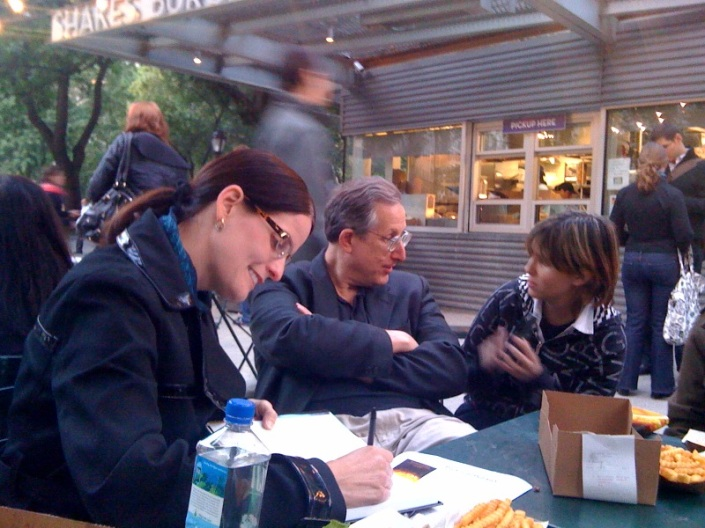 Autographing Protocol Politics in Madison Square Park, NYC